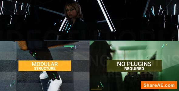 Videohive Fast Modern Reel with Titles