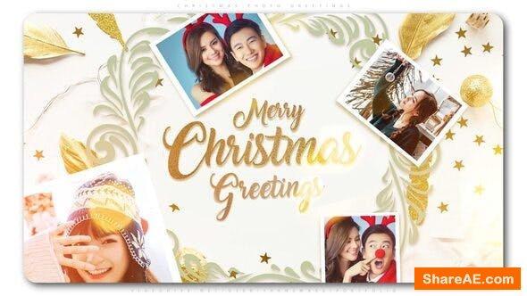 Videohive Christmas Photo Greetings