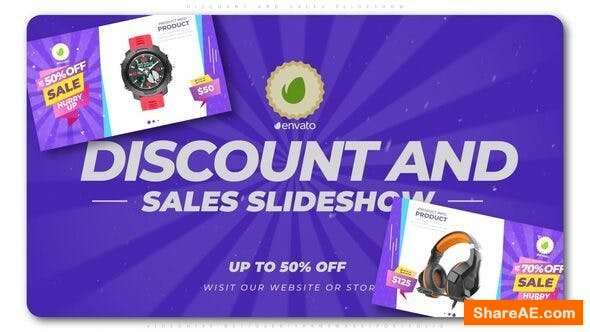 Videohive Discount and Sales Slideshow