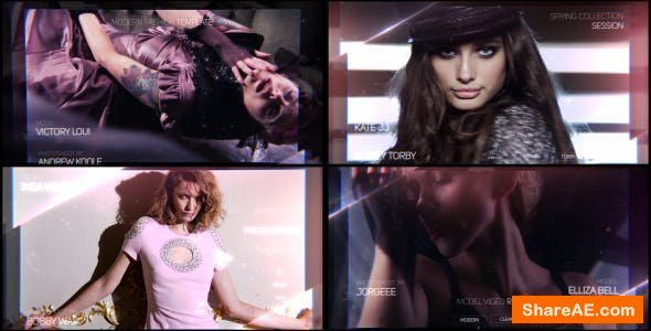 Videohive Fashion Reel