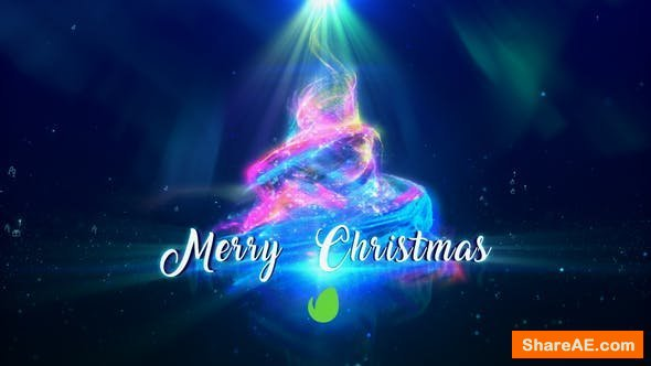 Videohive Christmas Particles