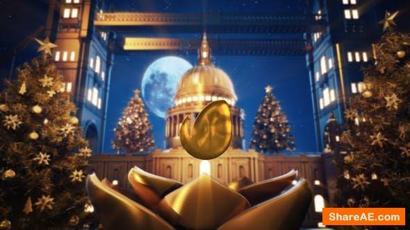 Videohive Golden Christmas In Vatican