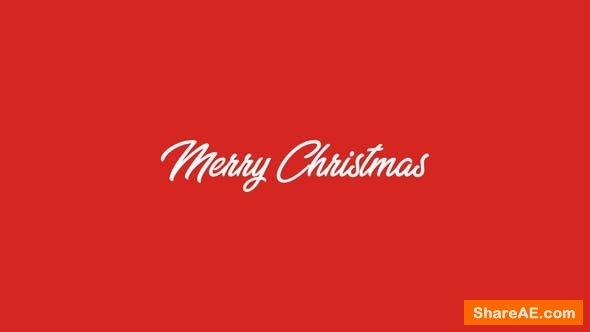 Videohive Christmas Intro 23013087