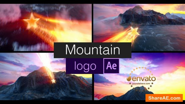 Videohive Mountain Logo 23013078