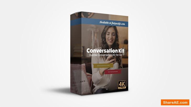 Flatpackfx Speech Bubble Kit - Premiere Pro