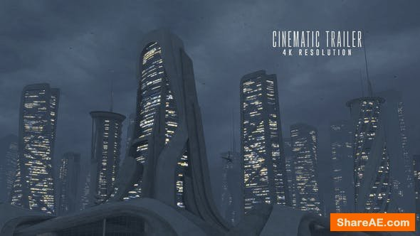 Videohive Futuristic Trailer 24849910