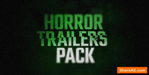 Videohive Horror Trailers Pack