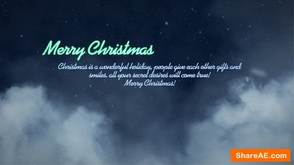Videohive Merry Christmas 13692269
