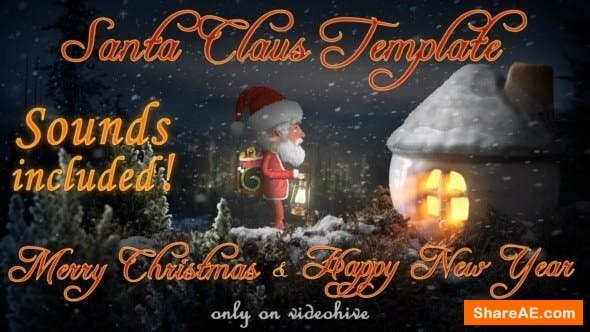 Videohive Santa Claus - Merry Christmas and Happy New Year
