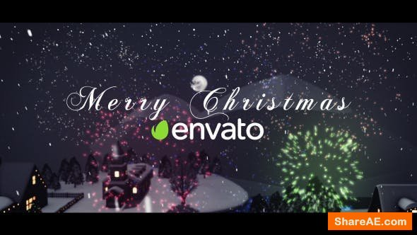 Videohive 3D Christmas Intro