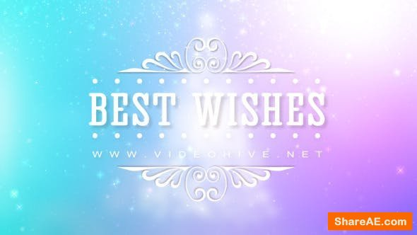 Videohive Christmas Best Wishes