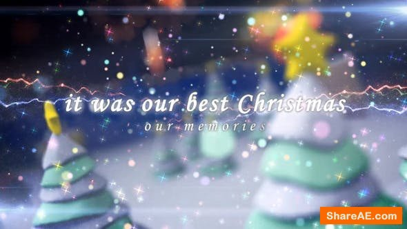 Videohive Our Christmas Memories