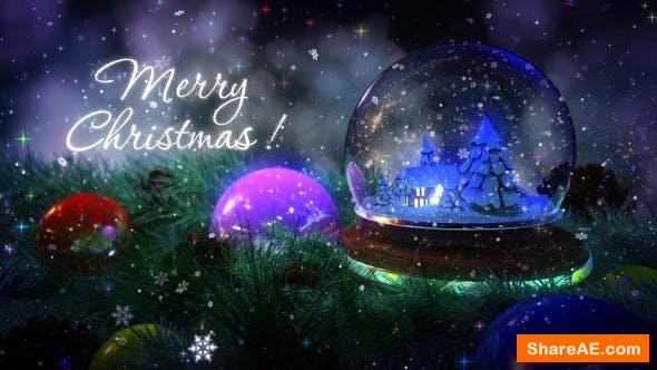 Videohive Christmas Magic Intro 14031556