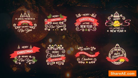 Videohive Christmas Titles  21019531