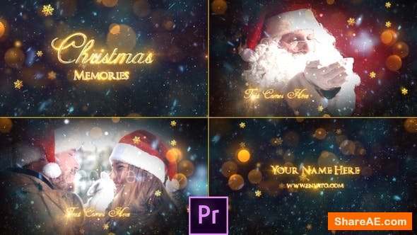 Videohive Christmas Memories Slideshow - Premiere Pro