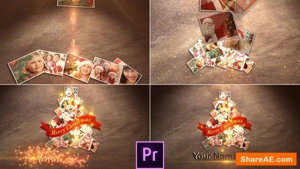 Videohive Christmas Photos - Premiere Pro