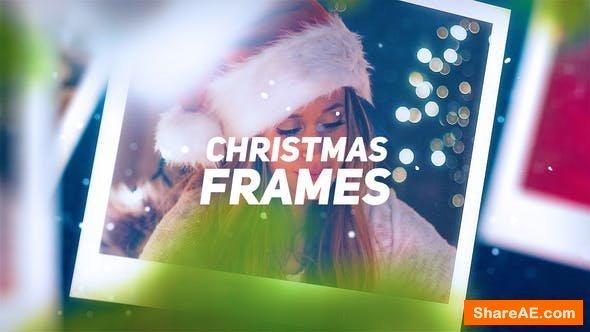 Videohive Christmas Photo Frames