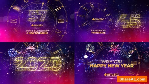 Videohive New Year Countdown 2020 25241254