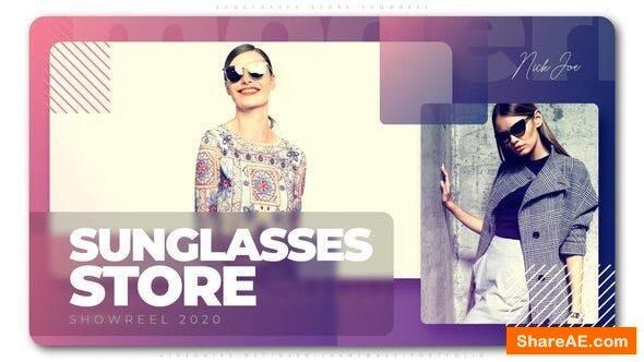 Videohive Sunglasses Store Showreel