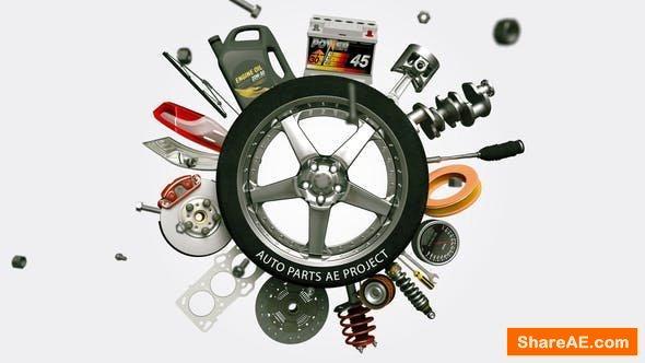 Videohive Auto Parts