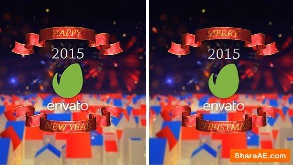 Videohive New Year & Merry Christmas Opener