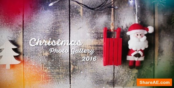 Videohive Christmas - Photo Gallery