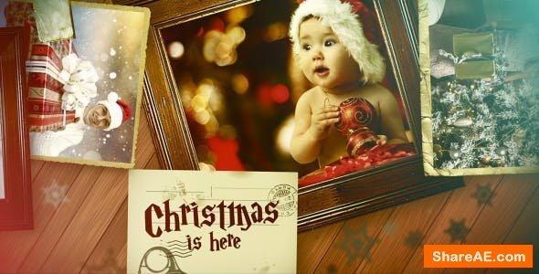 Videohive Christmas Family Slideshow