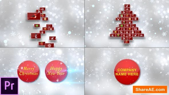Videohive Christmas Card - Premiere Pro