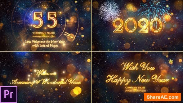 Videohive New Year Countdown 2020 - Premiere Pro 24892535