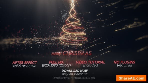 Videohive Merry Christmas 23030276
