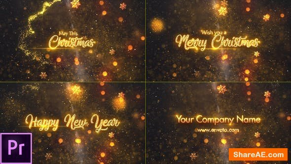 Videohive Christmas Greetings - Premiere Pro