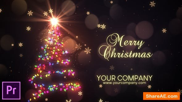 Videohive Christmas Lights - Premiere pro