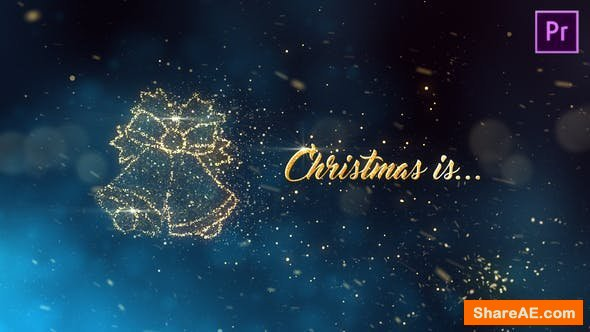Videohive Christmas is - Premiere Pro