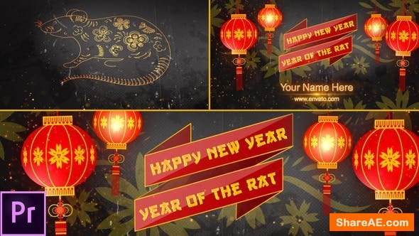 Videohive Chinese New Year Opener 2020 - Premiere Pro