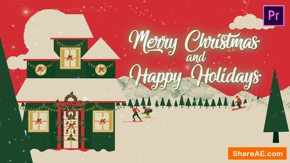 Videohive Christmas Vacation - Premiere Pro