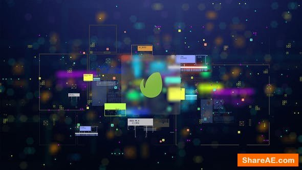 Videohive Hi-Tech Logo Reveal 25203715