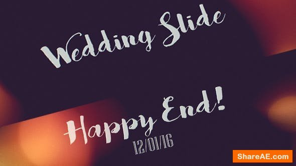 Videohive Wedding Slide 14499075