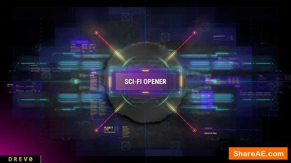 Videohive Scifi Intro