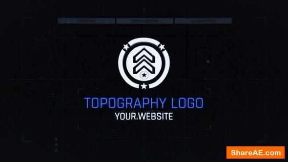 Videohive Topo Logo Reveal