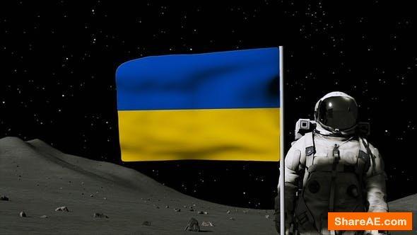 Videohive Moon Flag Logo