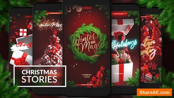 Videohive Christmas Instagram Stories 25269928