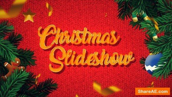 Videohive Winter Christmas Photo Slideshow