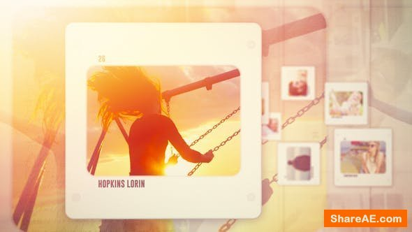 Videohive Photo Slideshow - Memories Slides