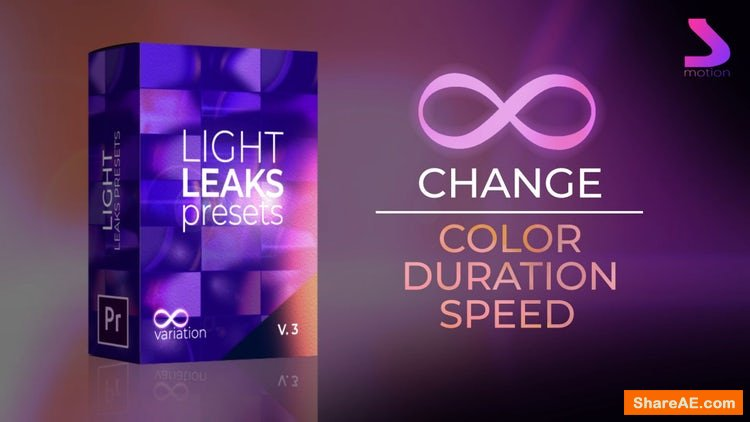 Light Leaks Generator Presets 3.0 - Motion Array