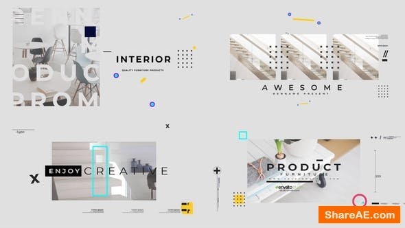 Videohive Visual Furniture Product Promo