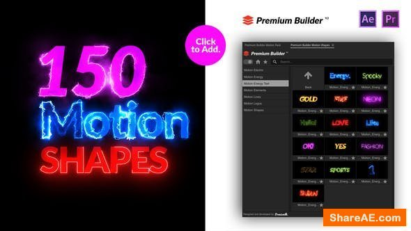 Videohive Motion Shapes Pack