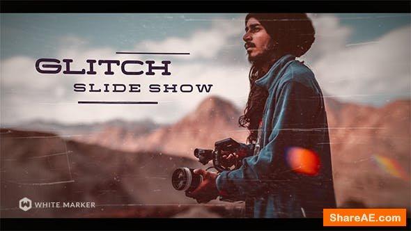 Videohive Glitch Slideshow 21485052