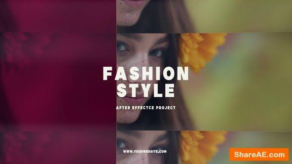 Videohive Fashion Style 22531693