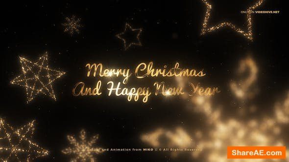 Videohive Christmas Wishes 25254214