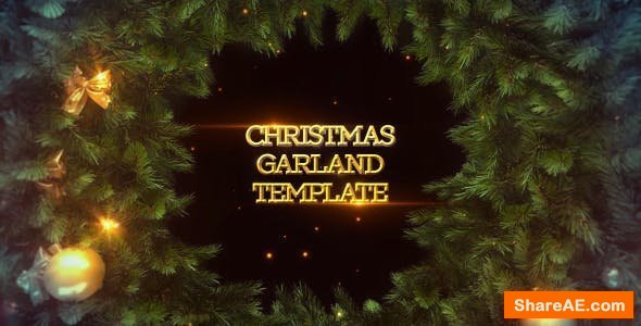 Videohive Garland Christmas Slideshow